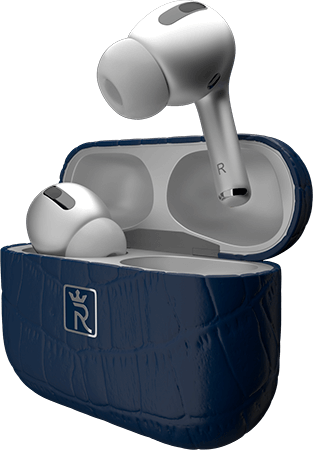 AirPods Silver & Blue